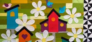 Birdhouse Quilt