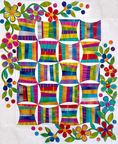 Spinning Spools Quilt - Latest Class