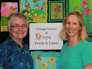 Little Fused Quilts - Laura Wasilowski and Frieda Anderson