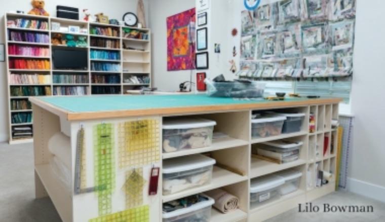 Organize Your Quilt Studio