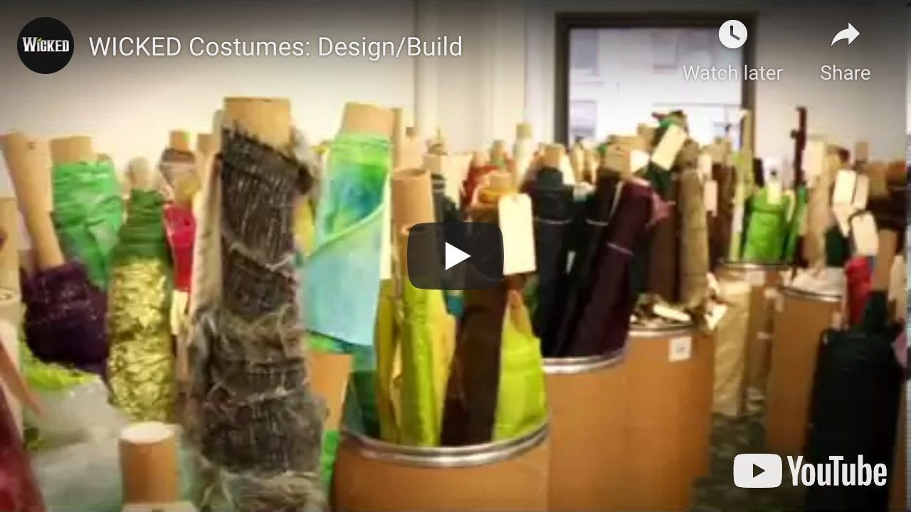 WICKED Costumes Design and Build