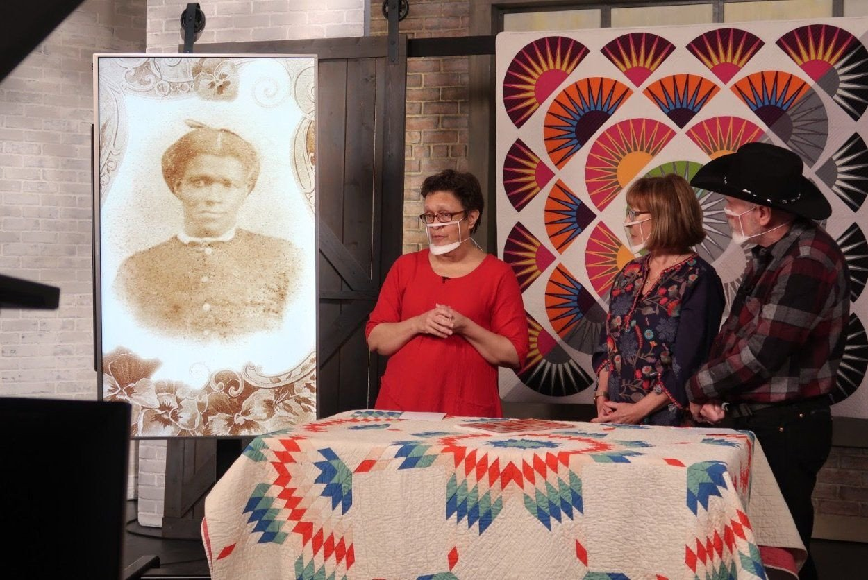 The Quilt Show On The Set with Sarah Bond