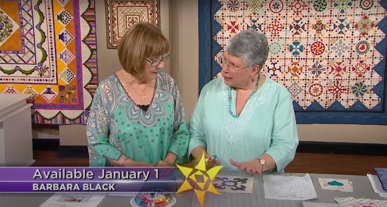 Trailer 2601: Block of the Month Quilt 2020 Afternoon Delight with Barbara Black