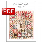 Sequoia Sampler REMIX Quilt Pattern By Alex Anderson PDF DOWNLOAD