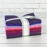 Prisma Dyes Plum Perfect Fat Quarter Bundle by Artisan Batiks for Robert Kaufman