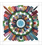 Color My World 2021 Block Of The Month Kit - NO Background