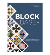 BlockBase+ Quilt Block Printing Software from Electric Quilt
