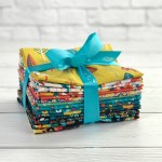 Folk Friends by Makower UK Fat Quarter Bundle