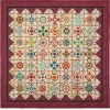 Afternoon Delight 2020 Block Of The Month Kit - INCLUDES Red Border