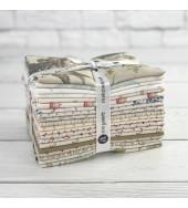Secret Stash Neutrals Fat Quarter Bundle by Laundry Basket Quilts