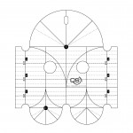 Precision 5 & 2.5 Inch Arc Machine Quilting Ruler by Quilters Select