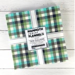 Mammoth Junior Flannel Layer Cake by Studio RK-  Cool Colorstory