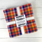 Mammoth Junior Flannel Layer Cake by Studio RK-  Warm Colorstory